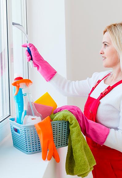Lavage de vitres association Réagir Services