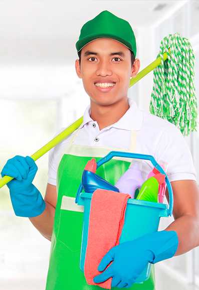 Nettoyage local professionnel réagir Services